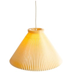 Pleated Paper Pendant by Kaare Klint