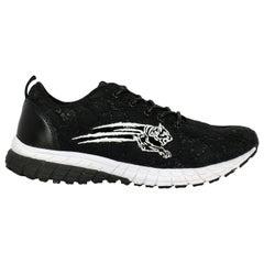 Plein Sport Woman Sneakers Black Synthetic Fibers IT 39