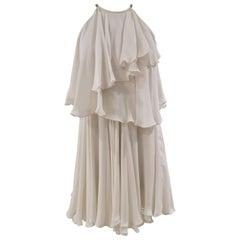 Plein sud White silk dress