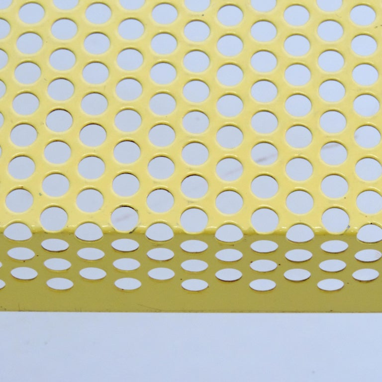'Pleinair' Low Table in Perforated Metal by Ammannati & Vitelli for Brunati In Good Condition For Sale In Milan, IT