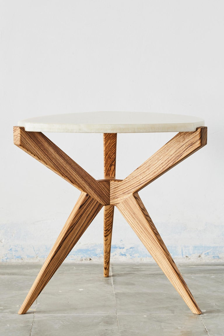 Mid-Century Modern Plettro Side Table For Sale
