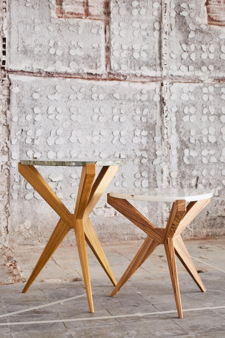 Contemporary Plettro Side Table For Sale