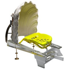 """Functional art Chair """"Plexi Shell Throne"""" by Lionel Jadot"""
