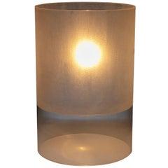 "Plexiglass Prototype ""Fatua"" Table Lamp by Guido Rosati for Fontana Arte"