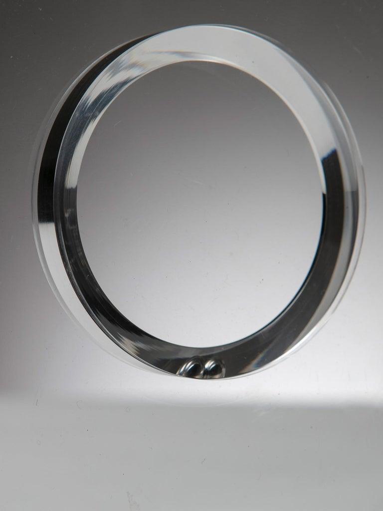 Italian Plexiglass Sculpture by Alessio Tasca for Fusina For Sale