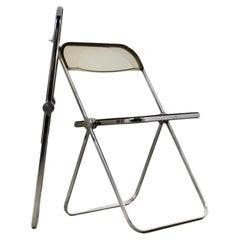 Plia Folding Chair by Giancarlo Piretti for Castelli, 1970s Set2