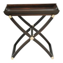 Plie Ebony Folding Coffee Table contemporary design by Giordano Viganò