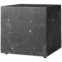 Plinth, Cubic, Black Marble