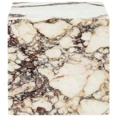 Plinth, Cubic, Rose Marble