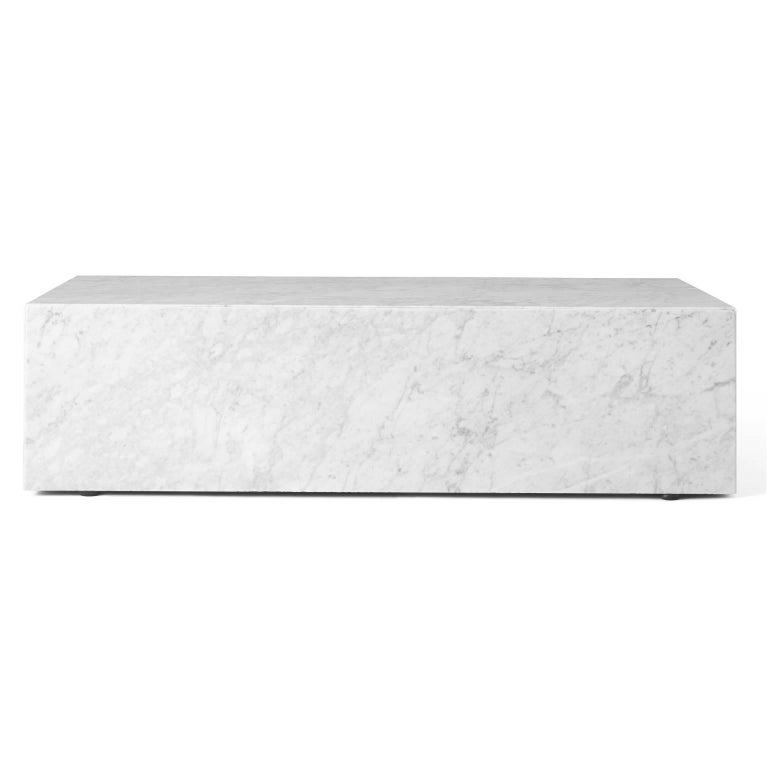 Over centuries, the plinth has been a much mused-over object. With this project Danish studio Norm Architects set out to rethink the uses of the plinth and to reveal the natural beauty of marble. The result is a series of podiums with multiple uses