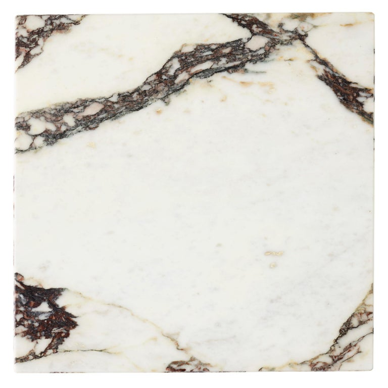 Plinth, Tall, Rose Marble In New Condition For Sale In San Marcos, CA
