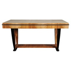 PLM-0001 Ivory Parchment Dining Table