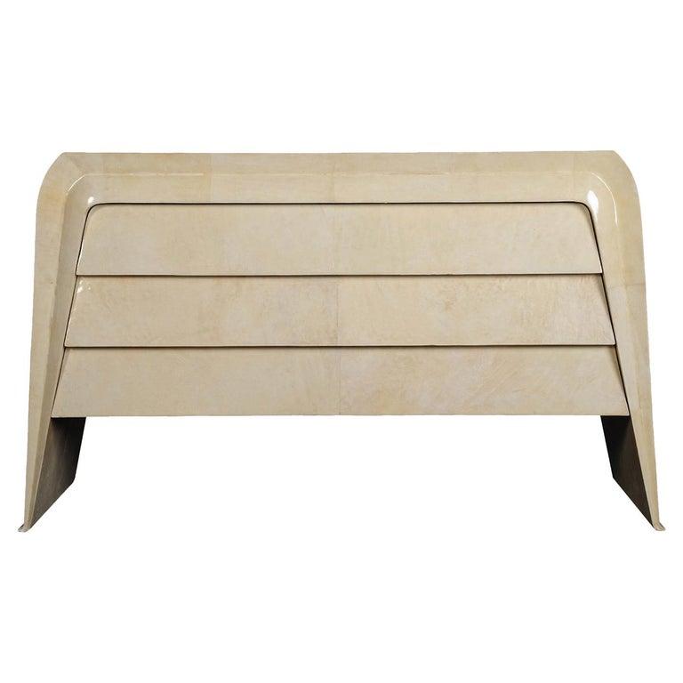 PLM-0083 Ivory Parchment Dresser For Sale