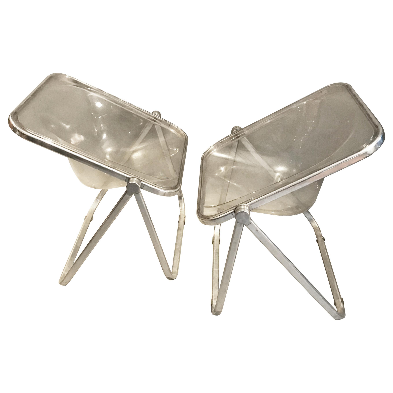 Plona Chair by Giancarlo Piretti for Castelli, circa 1970, Italy