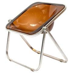 Plona Folding Deck Chair by Giancarlo Piretti for Castelli, circa 1970, Italy