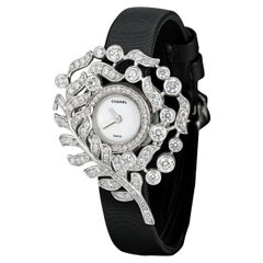 Plume Diamond Watch by Chanel