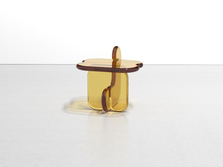 American Plump Resin Side Table in Pollen Yellow by Ian Alistair Cochran For Sale
