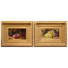 """""""Plums"""" and """"Grapes"""" Pair by Thomas Whittle"""