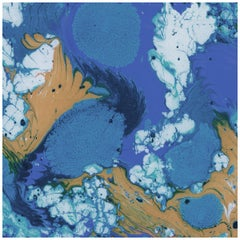 Plunge-Tidepool-Marble Printed Wallpaper