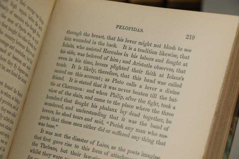 Late 19th Century Plutarch's Lives