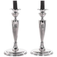 Plymouth Sterling Candlesticks