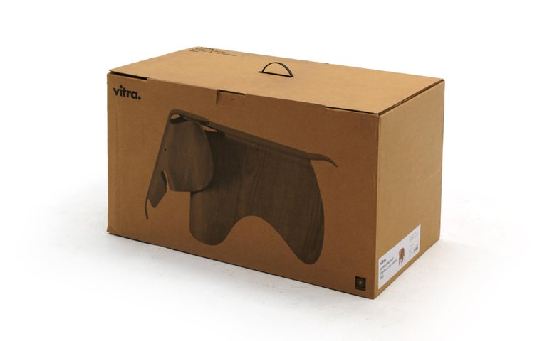 Plywood Elephant by Charles and Ray Eames, New, Only Opened for Photos For Sale 4