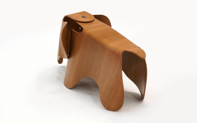 Mid-Century Modern Plywood Elephant by Charles and Ray Eames, New, Only Opened for Photos For Sale