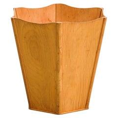 Plywood Wastepaper Bin, Finland, 1930s