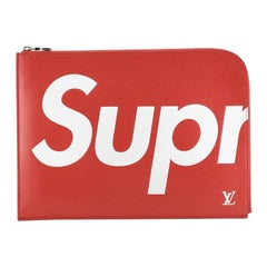 Pochette Jour Limited Edition Supreme Epi Leather GM