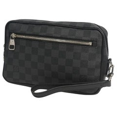 Pochette  Kasai  second bag  Mens  clutch bag N41664 Leather