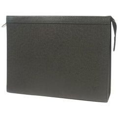 Pochette  voyageMM  Mens  clutch bag M30547  Ardoise Leather