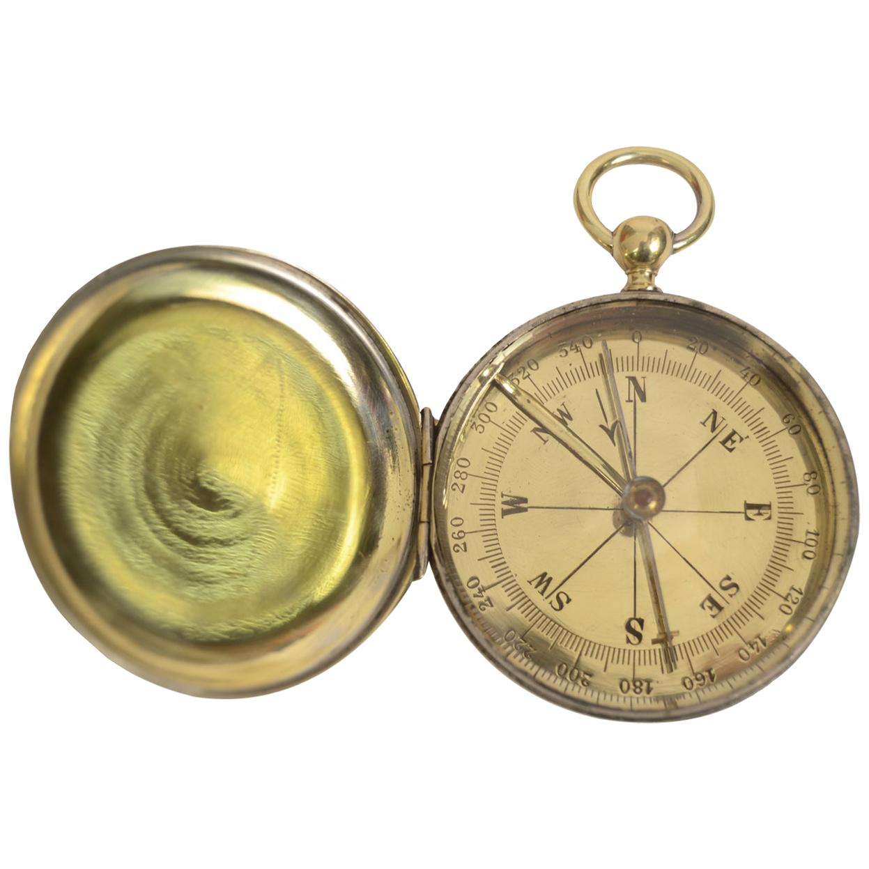 Pocket Compass English, Manufacture 1920s