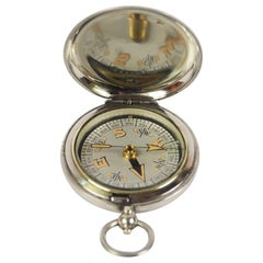 Pocket Compass for a British Officer Signed Dennison Birmingham, 1917