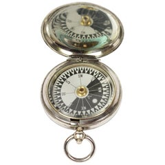 Pocket Compass for a Royal Air Force Officer Signed Short & Mason, 1916
