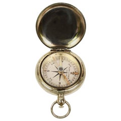 Pocket Compass for a US Army Officers Signed Keuffel & Esser Co NY WWI