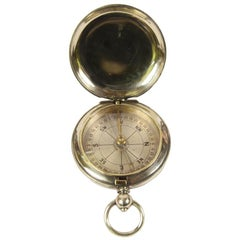 Pocket Compass for an Officer English Manufacture, Early 1900s