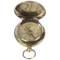 Pocket Compass Made in France in the 1920s