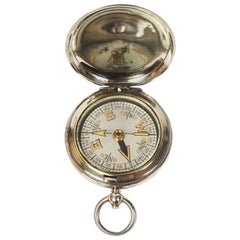 Pocket Compass Used by British Aviation Officers, 1917