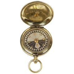 Pocket Compass Used by RAF Officers in the WWI