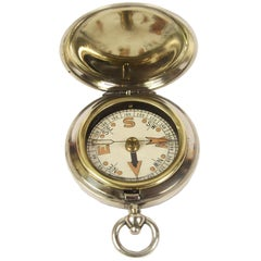 Pocket Compass Used by the British Navy in the WWI