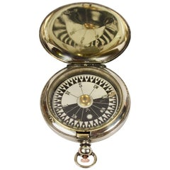 Pocket Compass Used by the Royal Air Force Officers in 1915