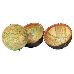 Pocket Globe John and William Cary, London 1791