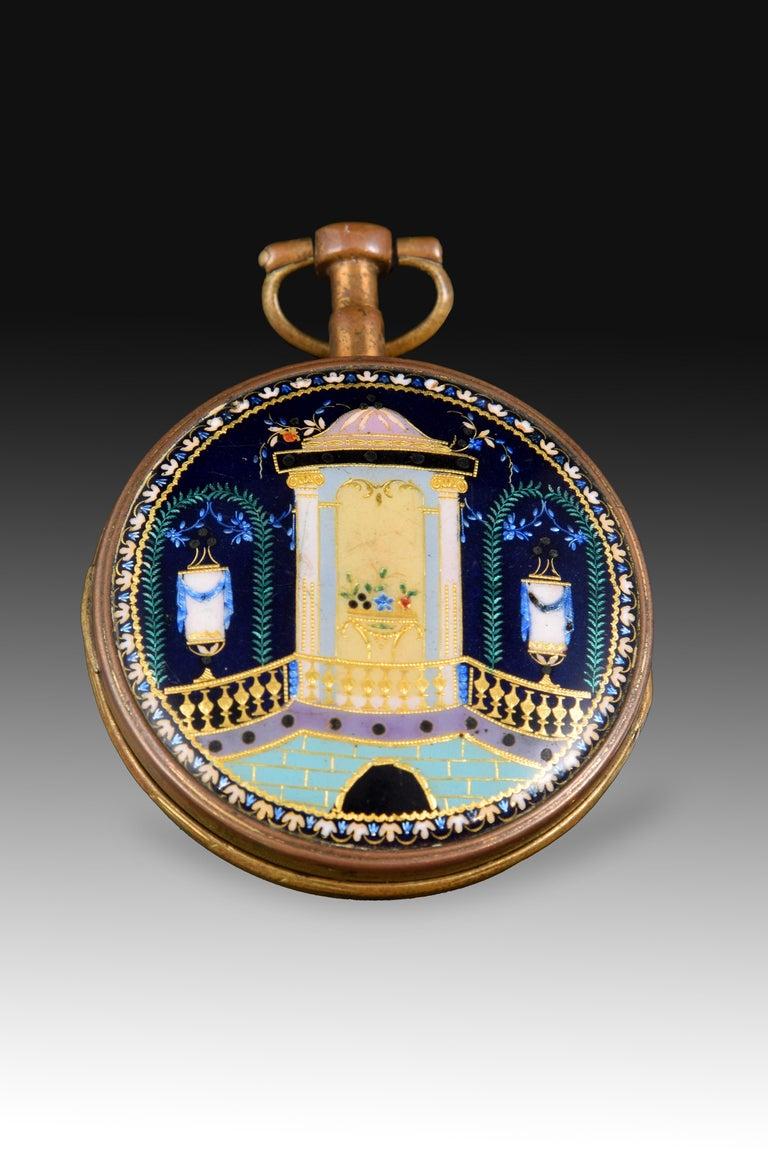 Pocket Watch, Frères Esquivillon & De Choudens, Paris, France For Sale 1