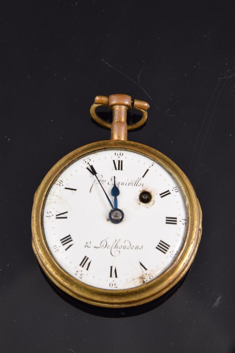 Pocket Watch, Frères Esquivillon & De Choudens, Paris, France For Sale 2
