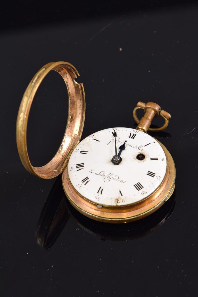 Pocket Watch, Frères Esquivillon & De Choudens, Paris, France For Sale 3