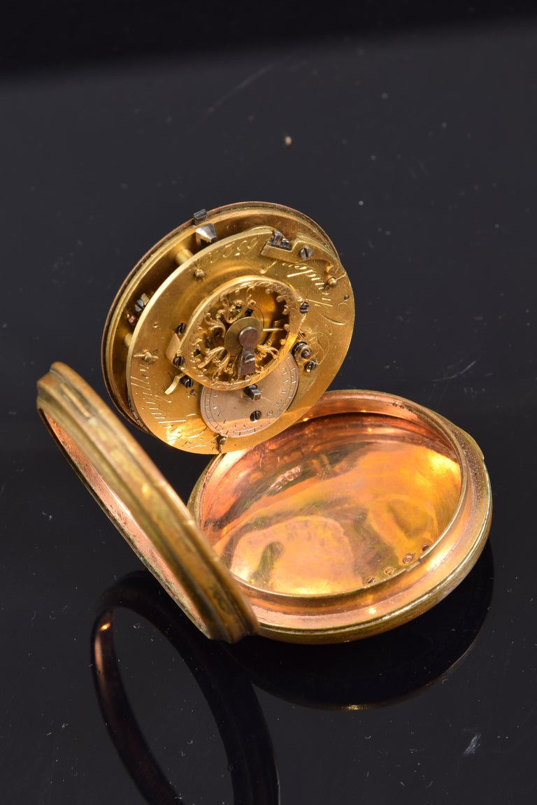 Pocket Watch, Frères Esquivillon & De Choudens, Paris, France For Sale 4