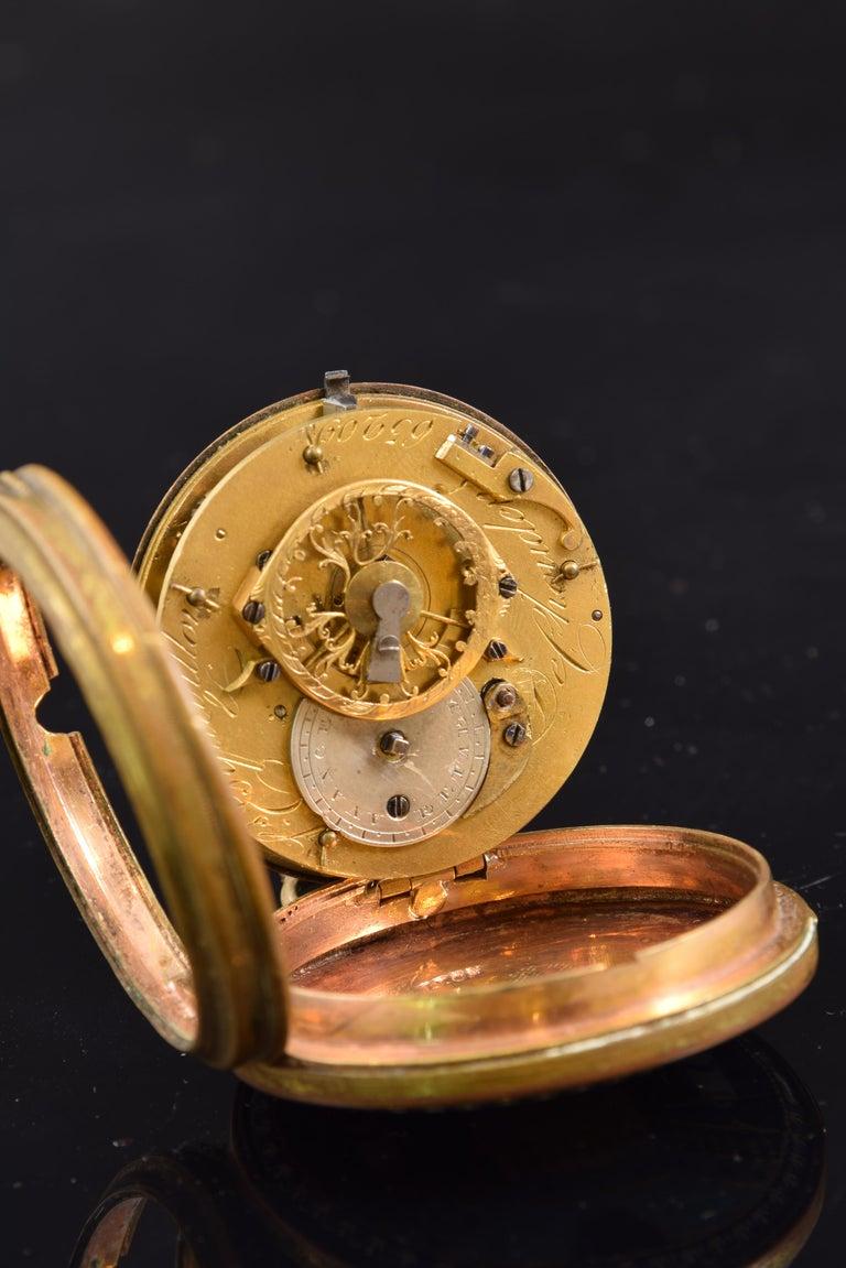 Neoclassical Pocket Watch, Frères Esquivillon & De Choudens, Paris, France For Sale