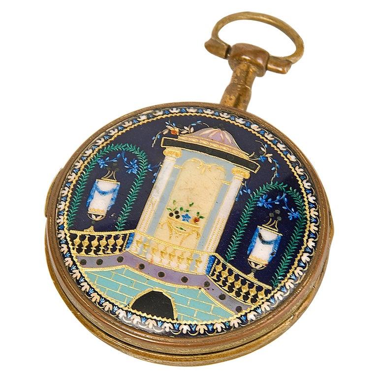 Pocket Watch, Frères Esquivillon & De Choudens, Paris, France For Sale