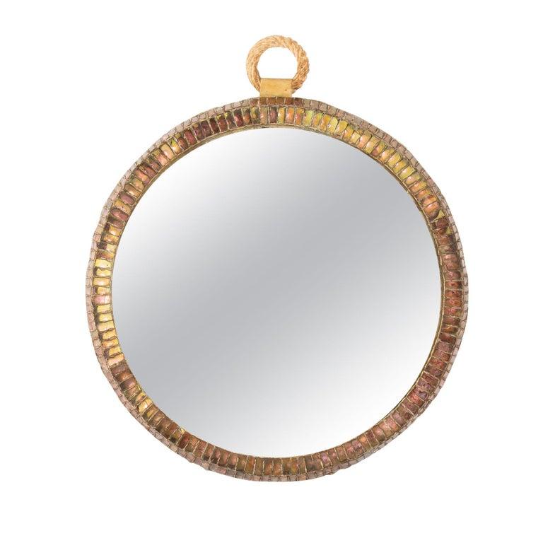 """Pocket watch"" 'MIroir Montre' Convex Mirror by Line Vautrin, France"