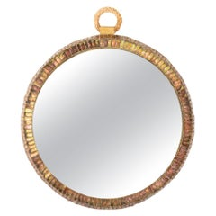 """Pocket watch"" 'MIroir Montre' Convex Mirror by Line Vautrin, France"